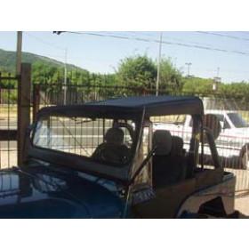Toldo Preto San Marino p/ jeep willys cj3