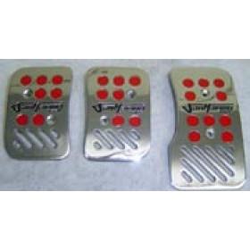 Pedaleira Vermelha Cromo (0,500 gr)