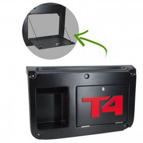 Tampa da Porta Traseira c/ Alojamento Compressor Troller T4 2015 2016 2017 2018 2019 2020