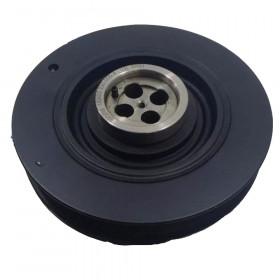 "Polia do Virabrequim ""Antivibratoria"" para S-10 - Blazer 2000/2012 - Nissan Frontier XTerra e Troller Motor MWM"
