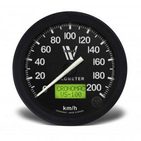 Velocímetro 100mm Eletrônico 200kmh Display Digital – WILLYS