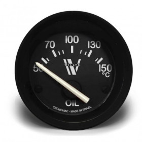 Termômetro Elétrico 52mm Óleo – WILLYS