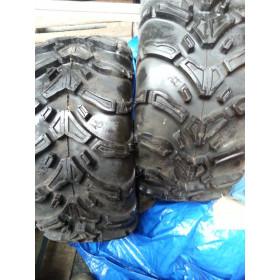 Par de pneus para quadriciclo, modelo Scopion Pirelli Mud Terrain novos medida 25x10 R12