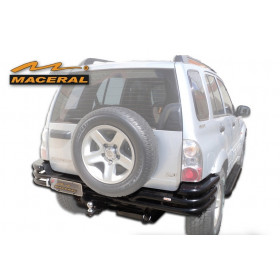 Para-choque Tubular Traseiro Para Chevrolet GM Tracker 2008 / 2009 e Suzuki Gran Vitara até 2005