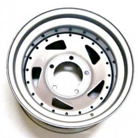 Roda modelo Direcional em Aço (Estilo Mangels) 16x6, 6 Furos de 139.7 para L-200 , Engesa, Pajero Full, Triton, Troller, Frontier