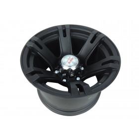 Roda Fortwheel Italian Black em Liga 15x10, 6 Furos de 139,7 p/ L-200 , Engesa, Pajero, Triton, Troller, Frontier, Hilux