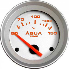 Termômetro Elétrico De Água 52mm Cronomac Linha Racing