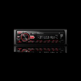Som Automotivo Pioneer MVH-298BT 1 Din USB AUX Bluetooth