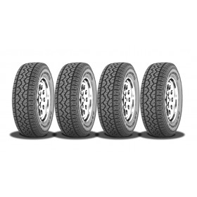 4 Pneus 225/75 R16 AT3 50% Off road 50% On road Ideal para Pajero Tr4